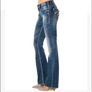 Silver Jeans Suki Surplus Dark Rinse